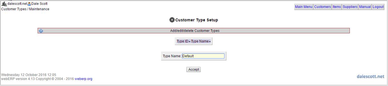 weberp-create-customer-type